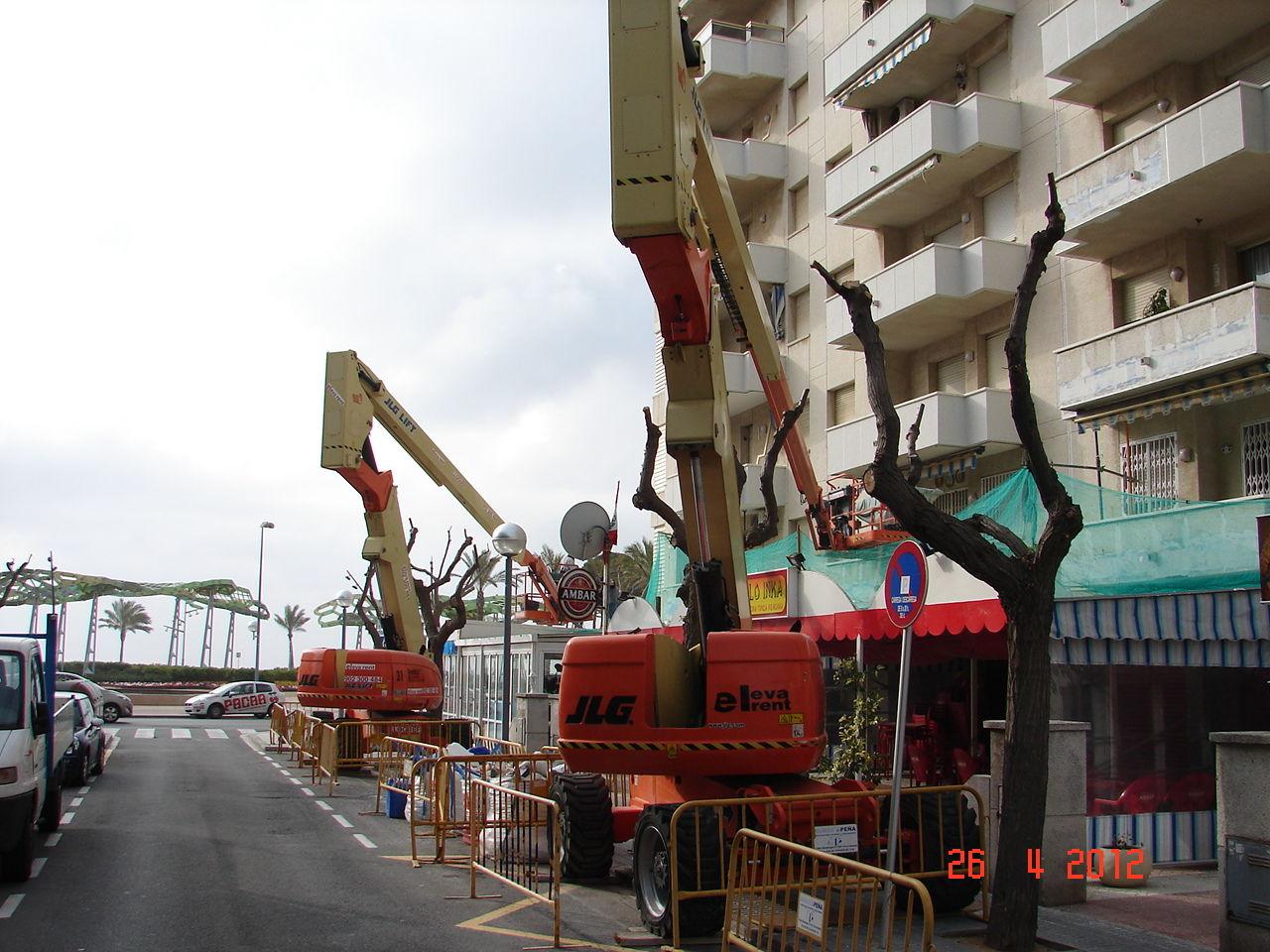 Foto 21 de Plataformas elevadoras en Reus | Eleva Rent