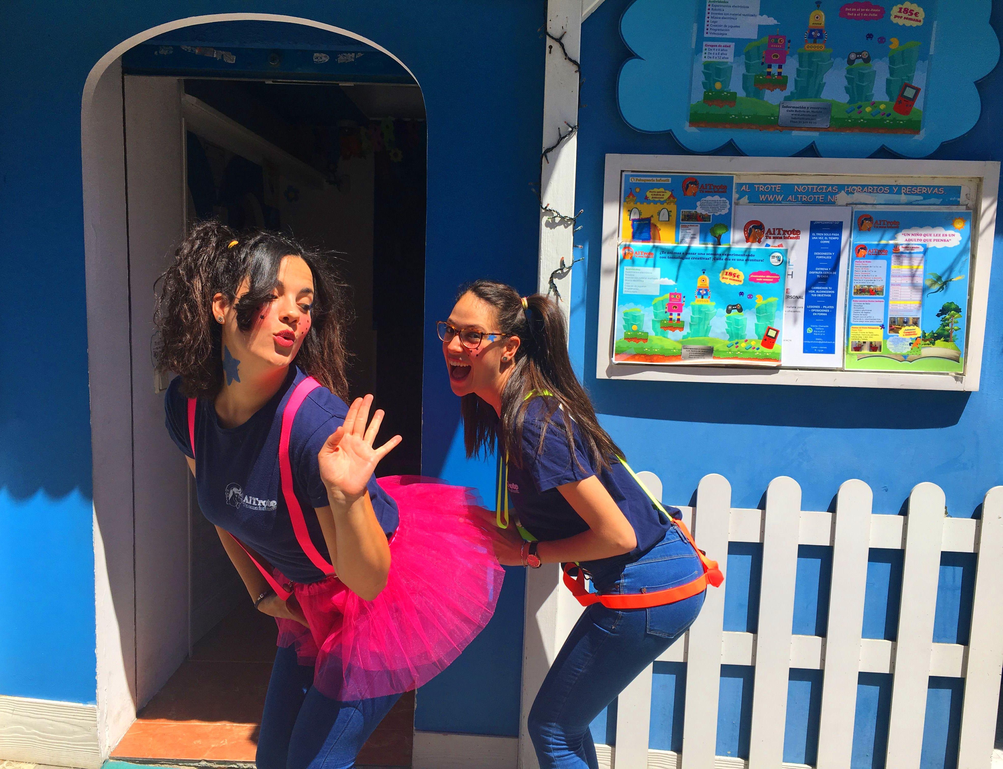 ANIMACIONES INFANTILES: NUESTROS SERVICIOS de Al Trote Zona Infantil