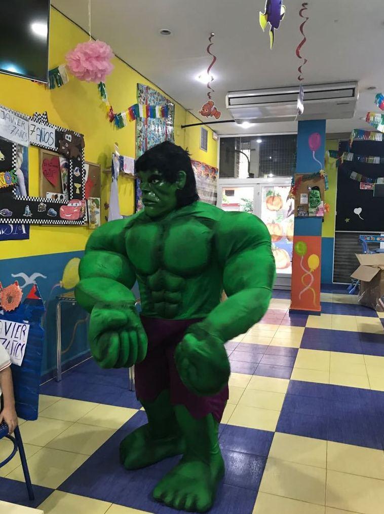 Fiestas con Super Heroes