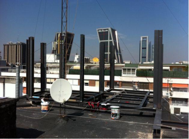 Construcción de estructuras metálicas en Madrid
