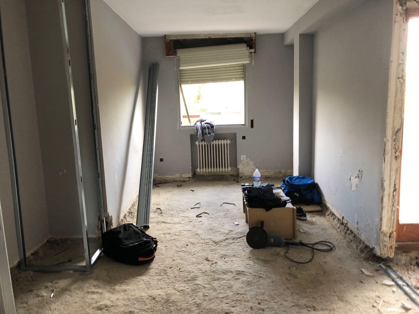 Trabajos de reforma con paredes pefabricads