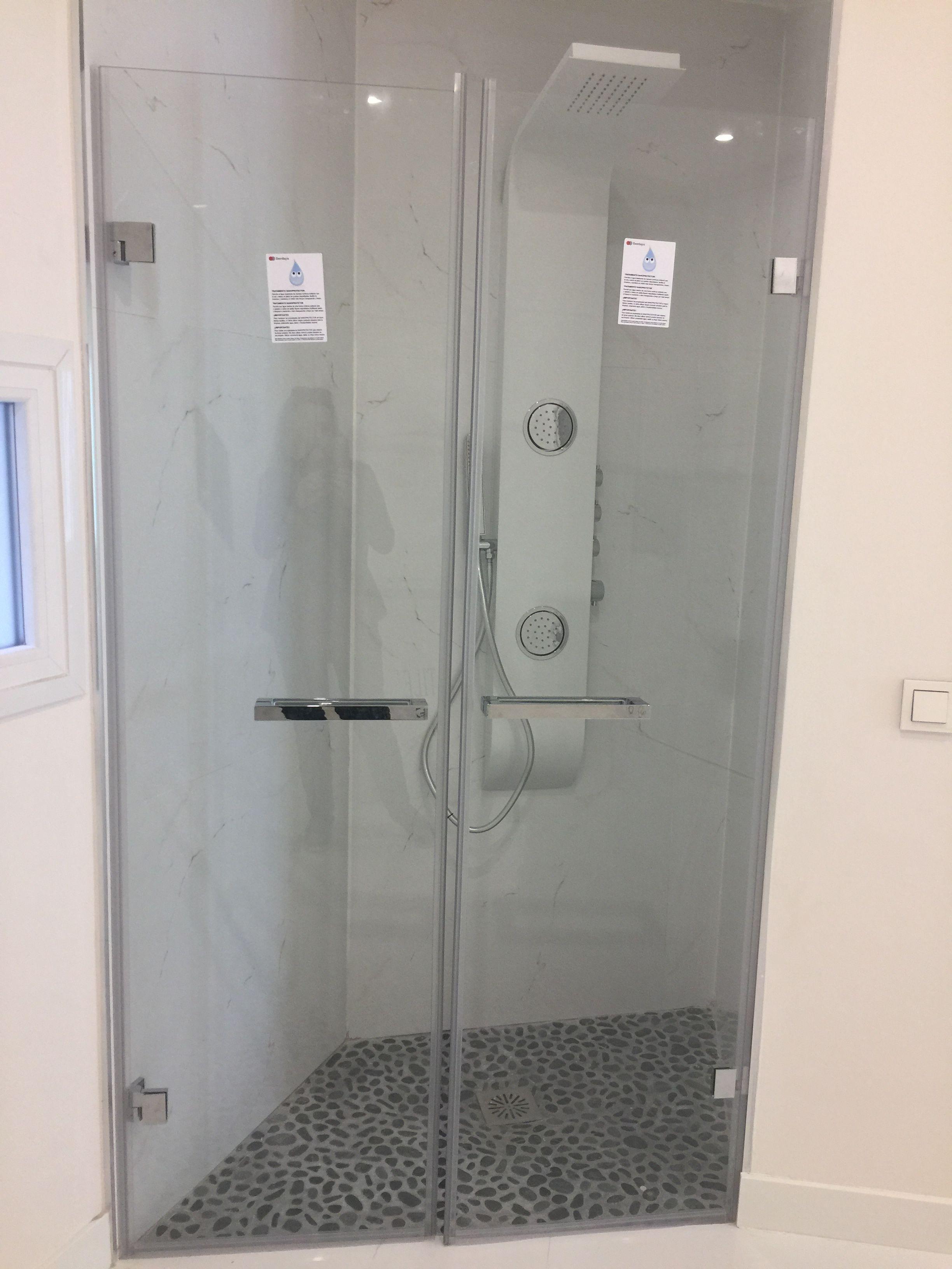 Mamparas de ducha a medida en Madrid