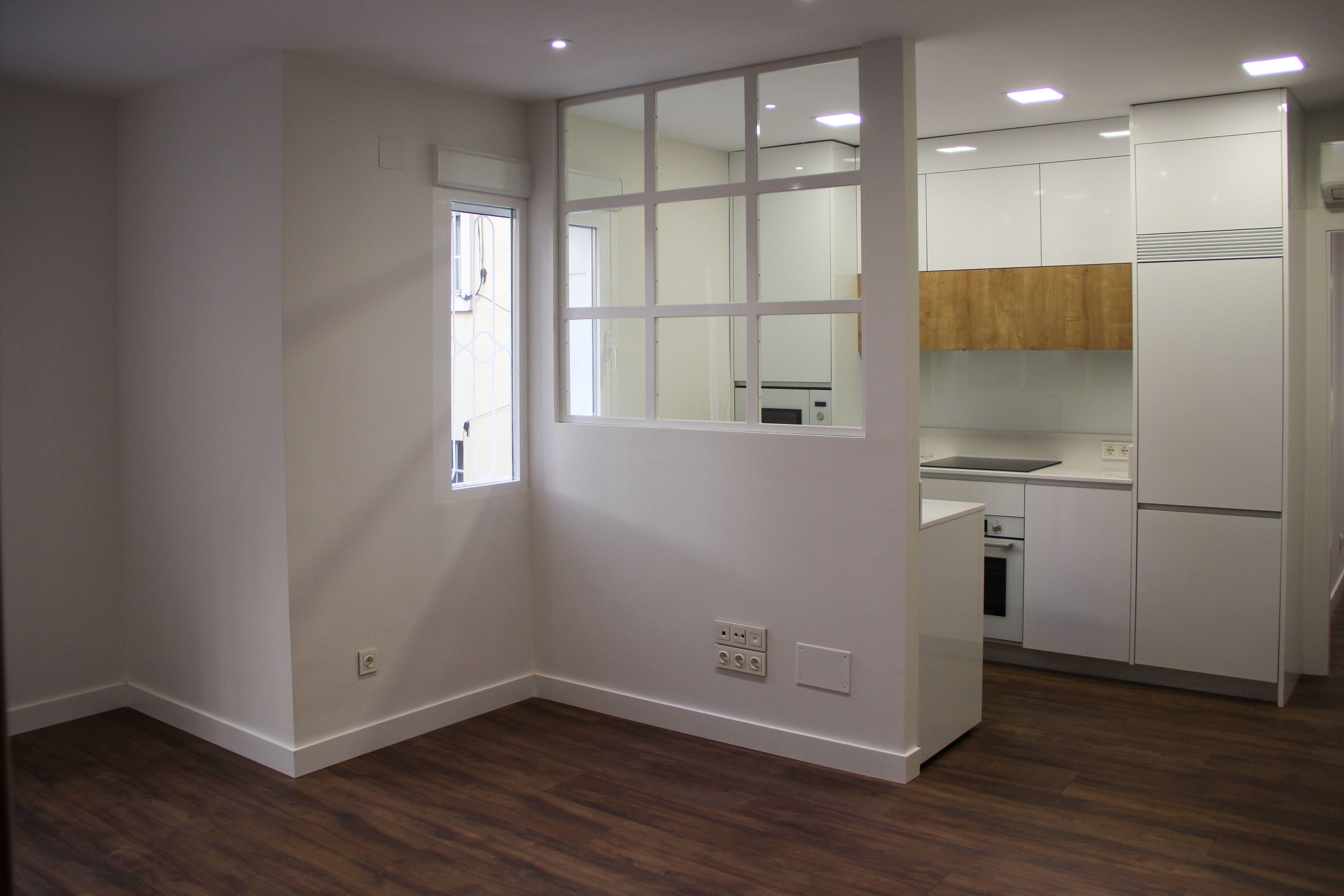 Salón - cocina Obras y Promociones Sande, S.L.