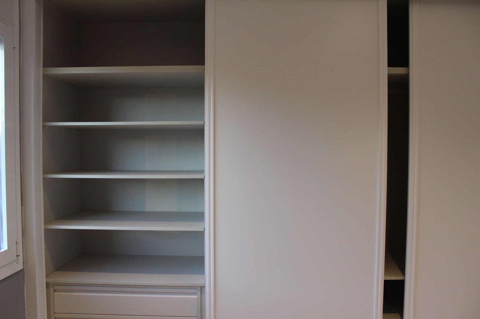 Revestimiento de interior de armario en Madrid