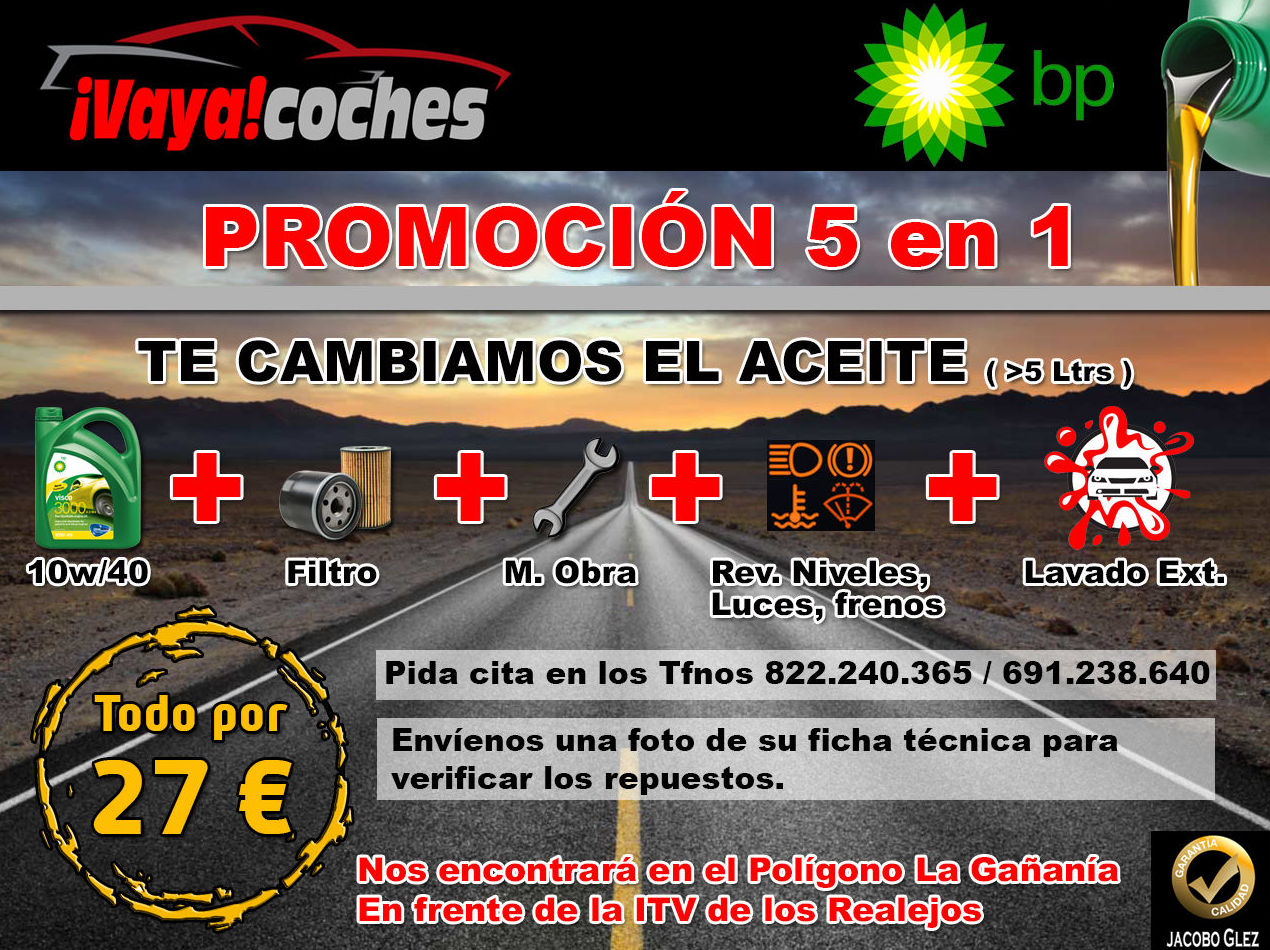 Foto 1 de Concesionario de coches en Los Realejos | VAYA COCHES SL
