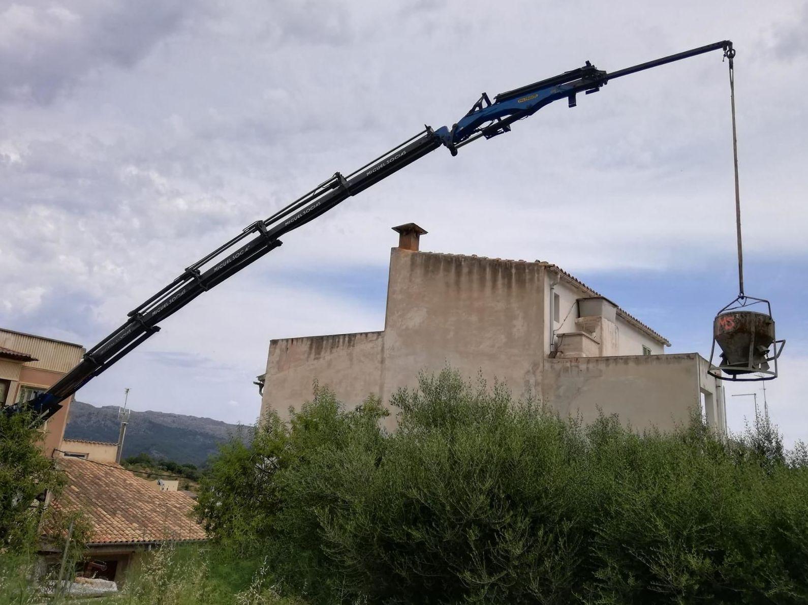 Foto 11 de Transporte y materiales de construcción en Campanet | Transportes Miguel Socias e Hijos