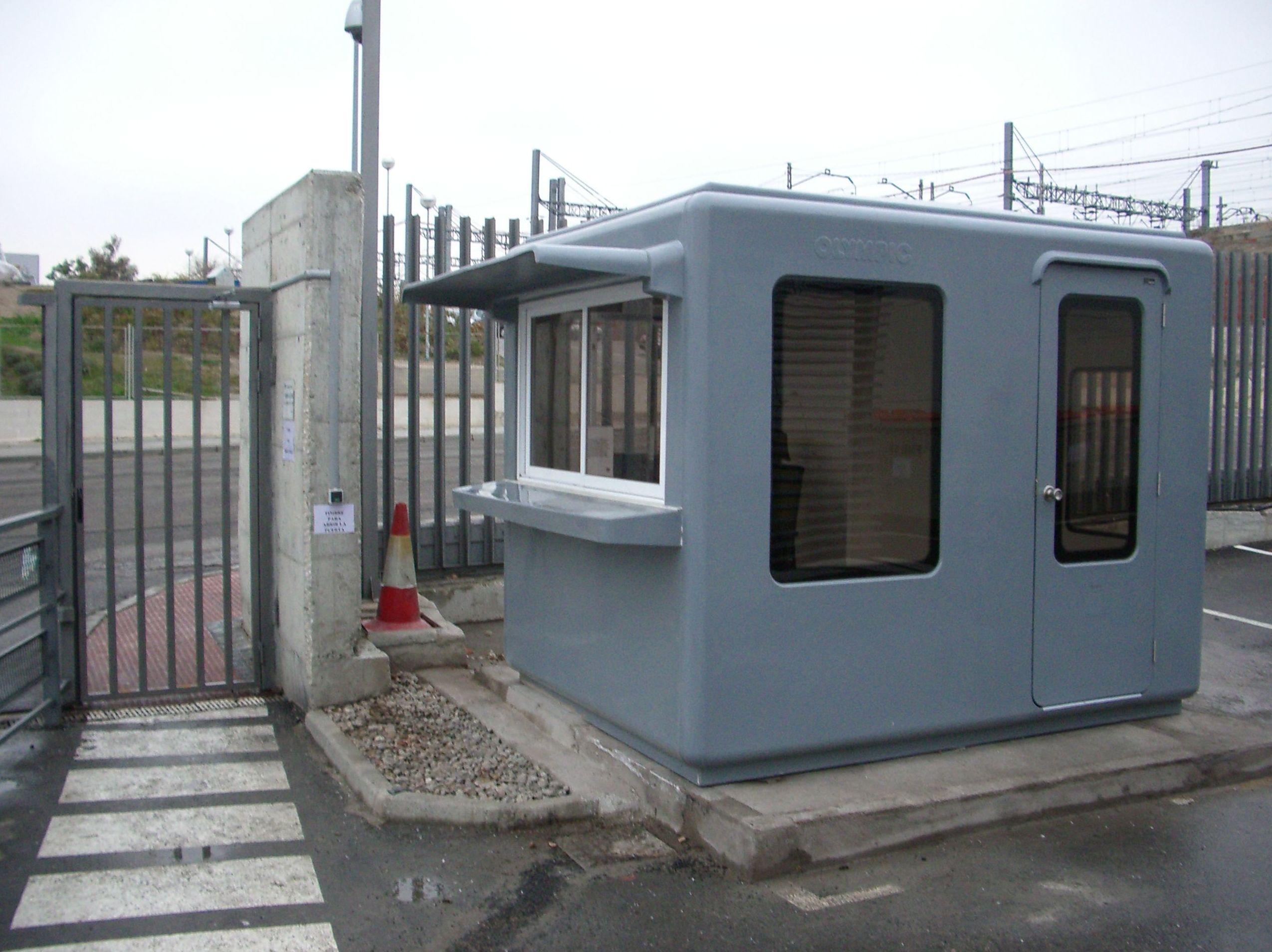 cabina 2,80x2,20 control accesos