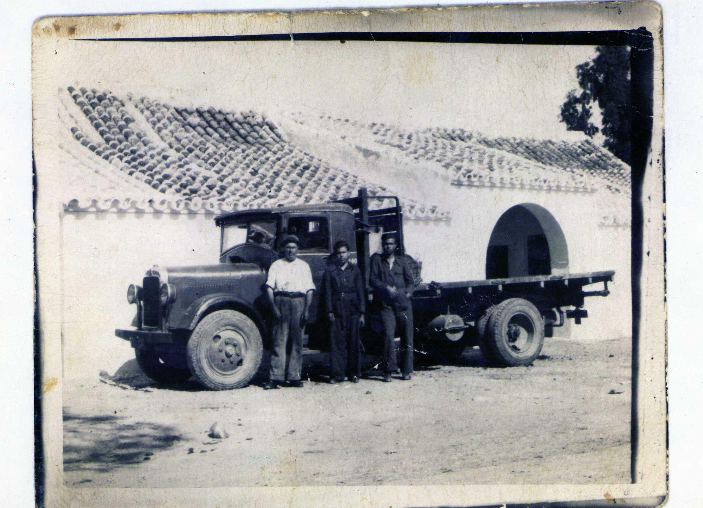 Fotografía de nuestro primer camión