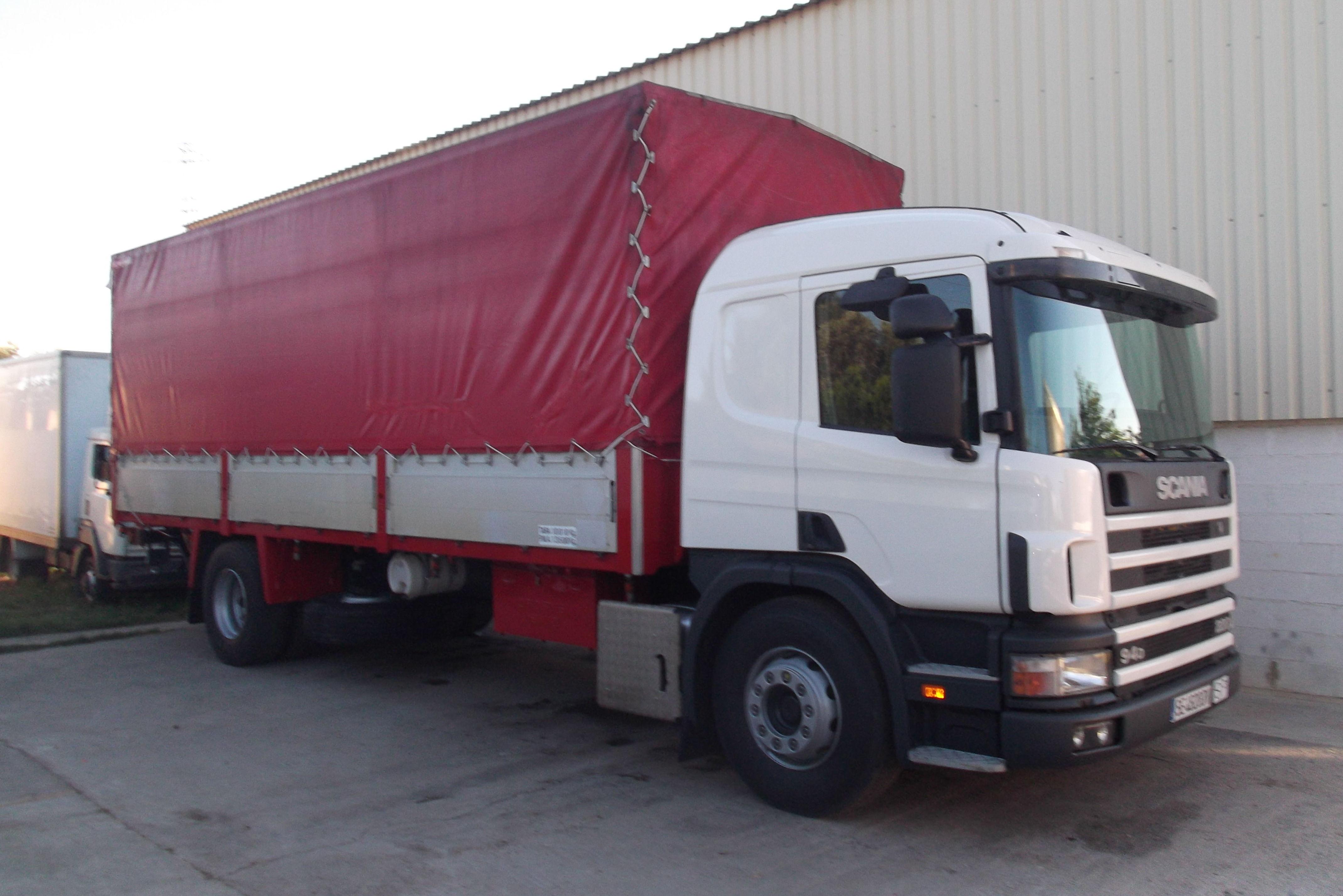 Camiones para transporte de mercancías delicadas