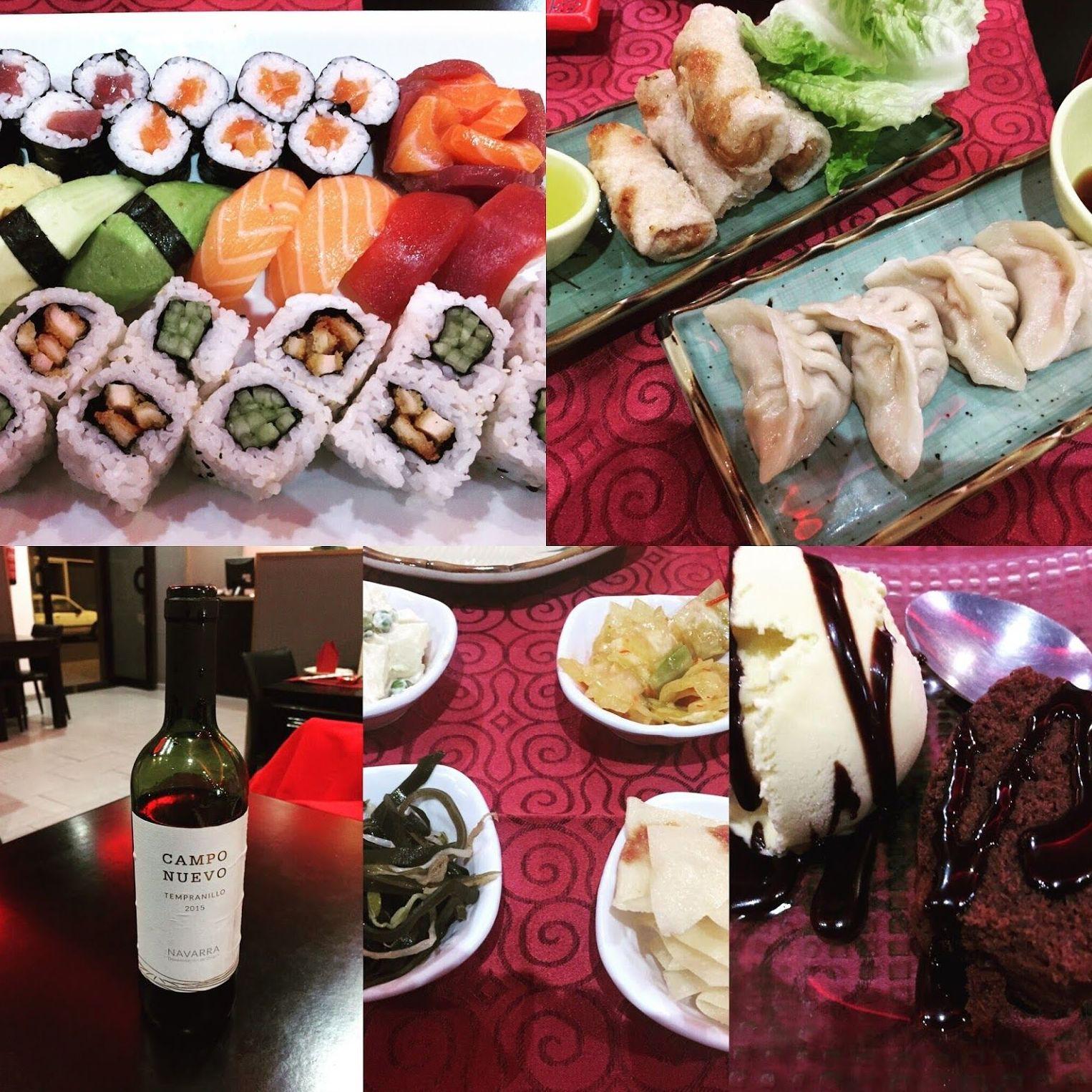 Servicio de comida japonesa en Las Palmas