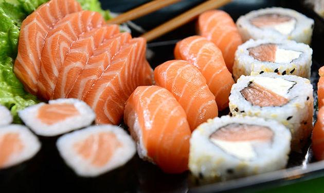 Sushi en las Palmas de Gran Canarias