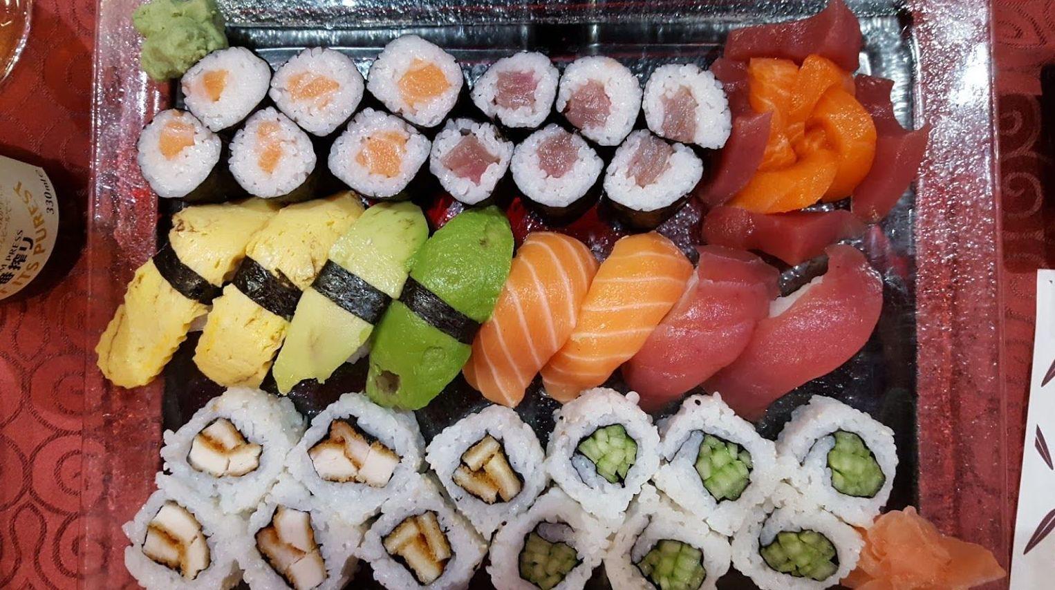 Restaurante de cocina japonesa en Las Palmas