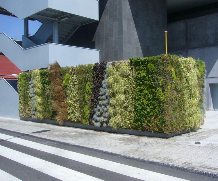 Jardines verticales en Cabrera de Mar, Barcelona