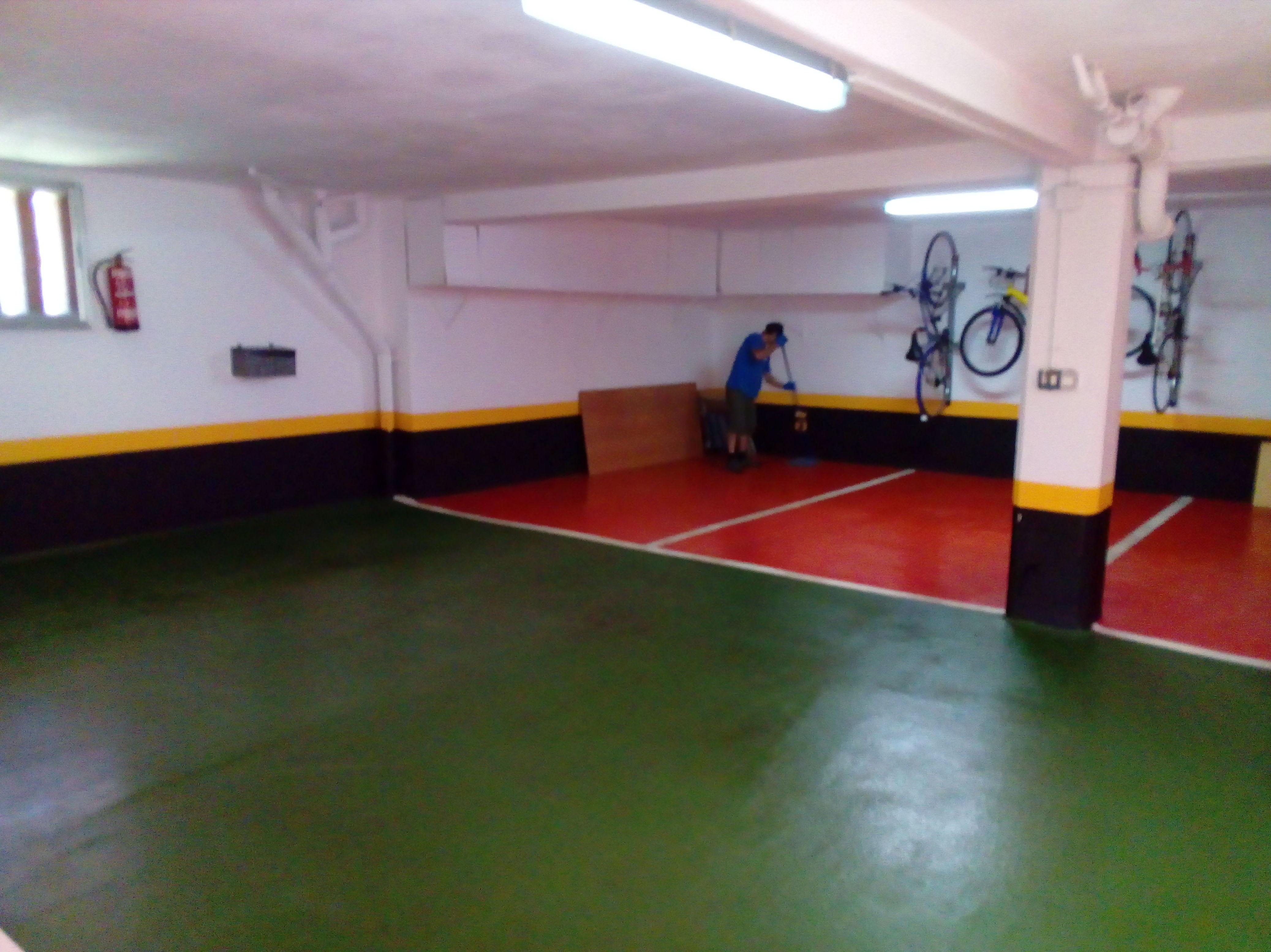 Limpieza de garajes en Leioa
