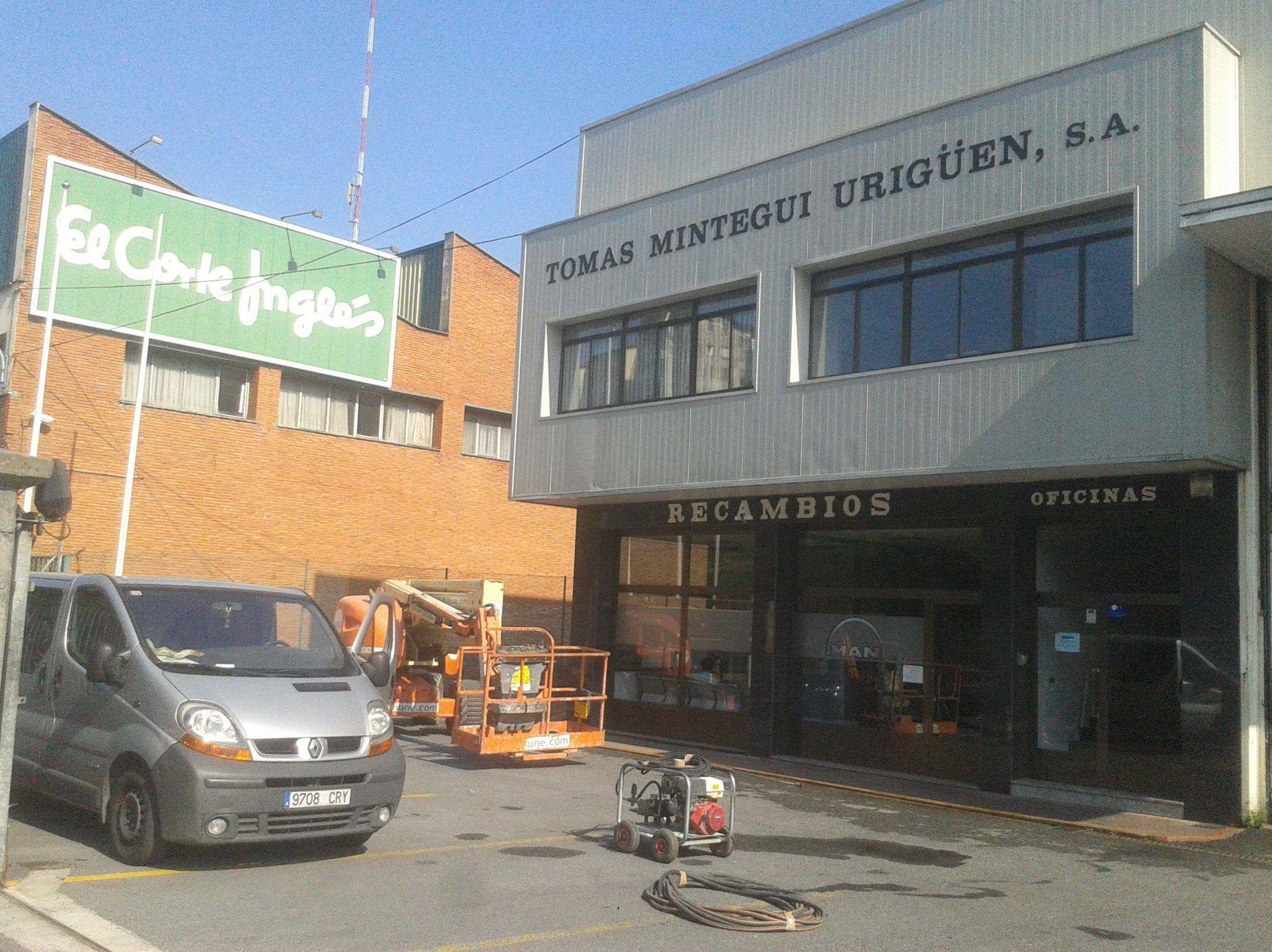 Limpieza de fachadas en Vizcaya