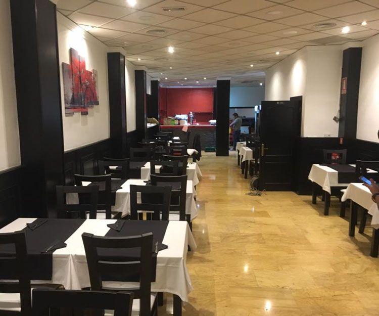 Restaurante con platos veganos en Valencia