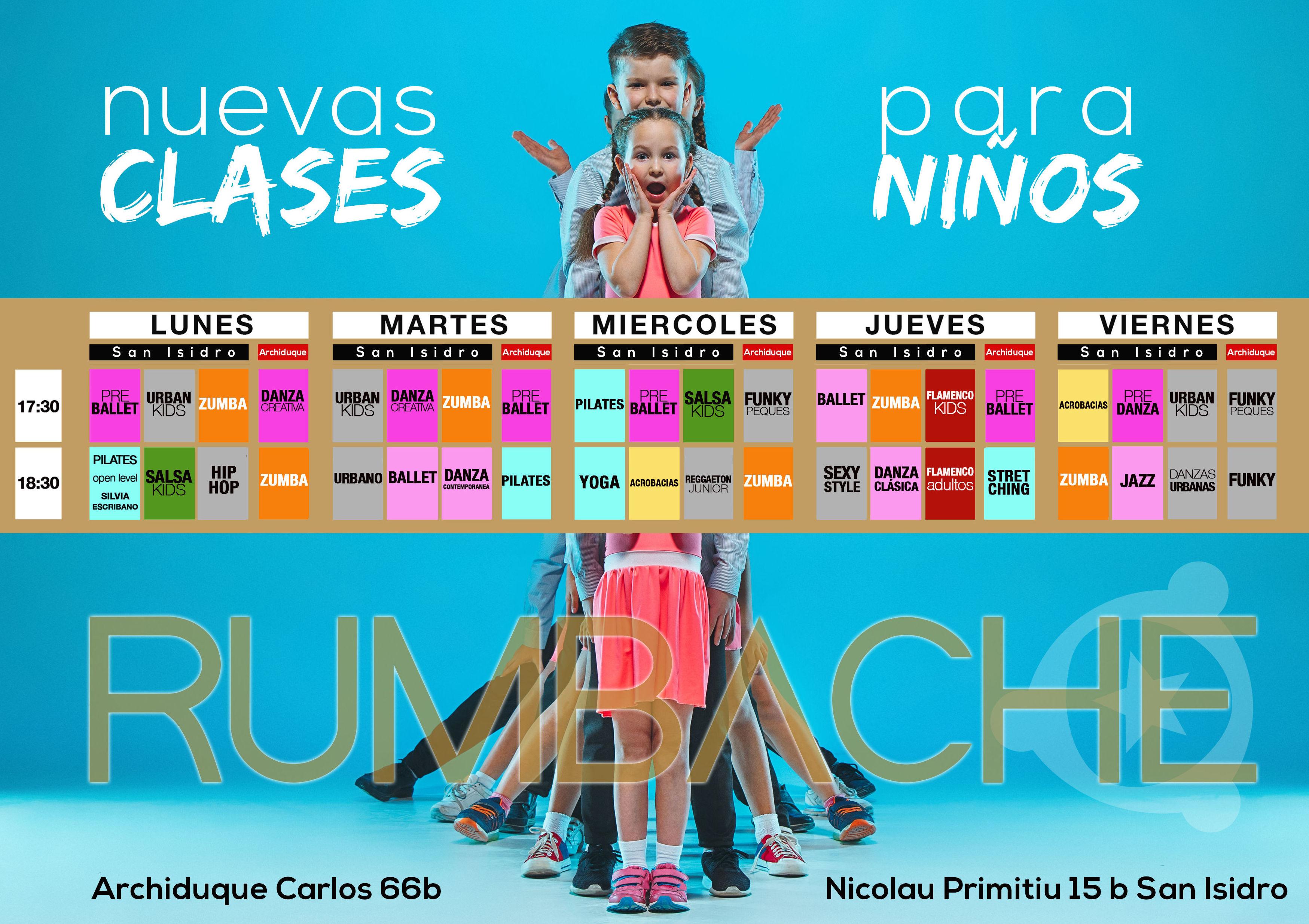 Foto 4 de Academias de danza en Valencia | RUMBACHE