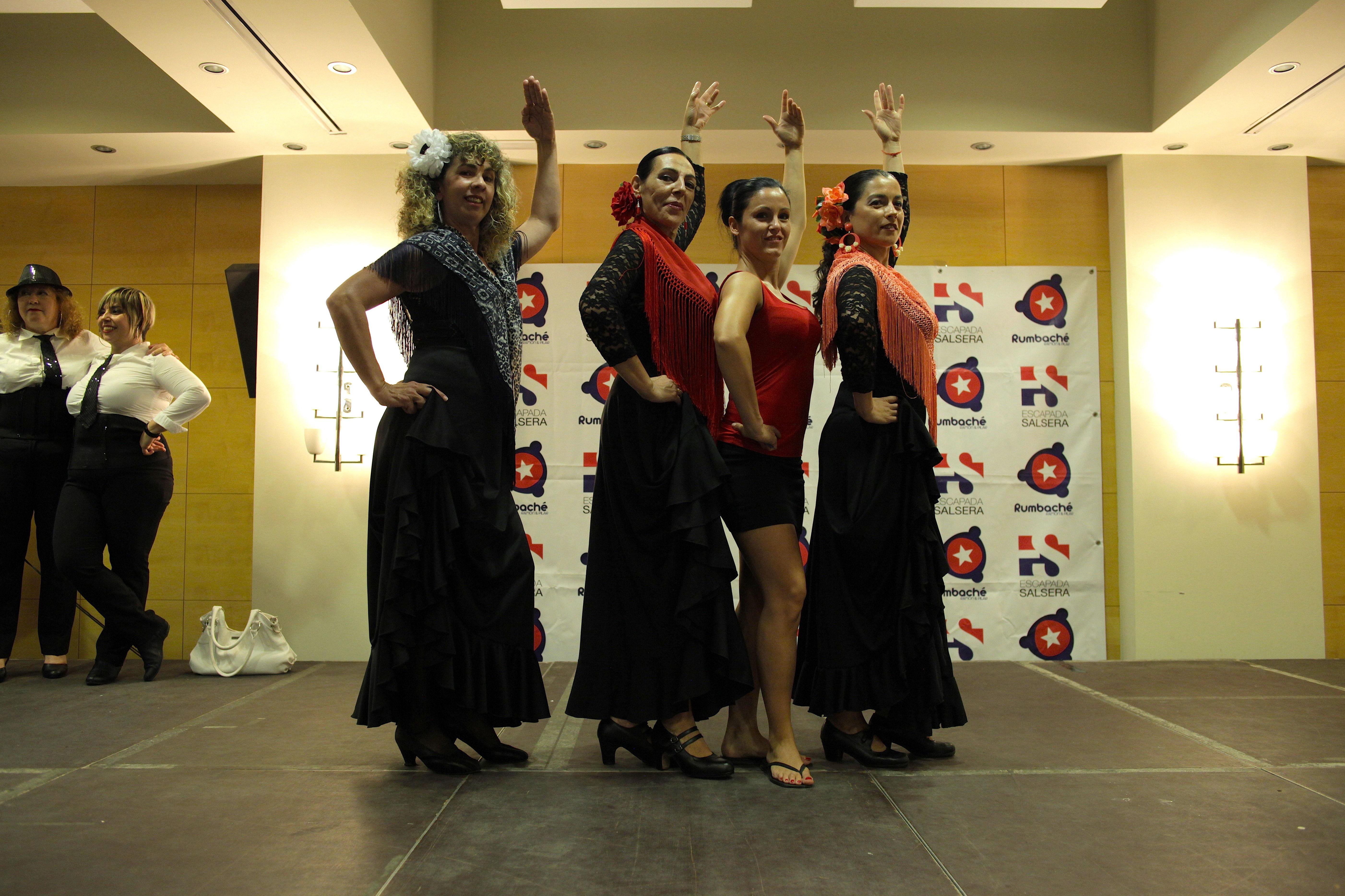 Clases de Flamenco Miercoles 18:30 con Yolanda Rodriguez [Festival Fin de Curso 2015]