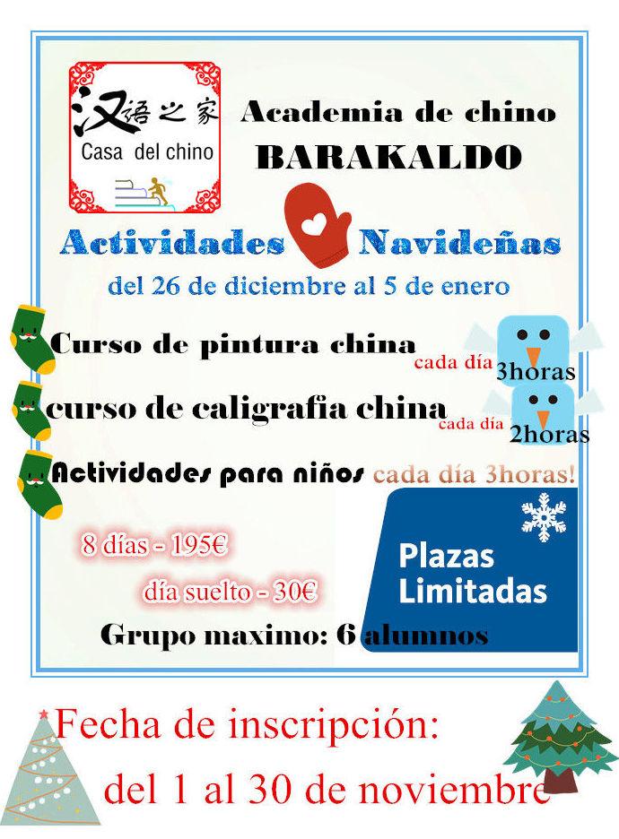 ACADEMIA DE CHINO BARAKALDO