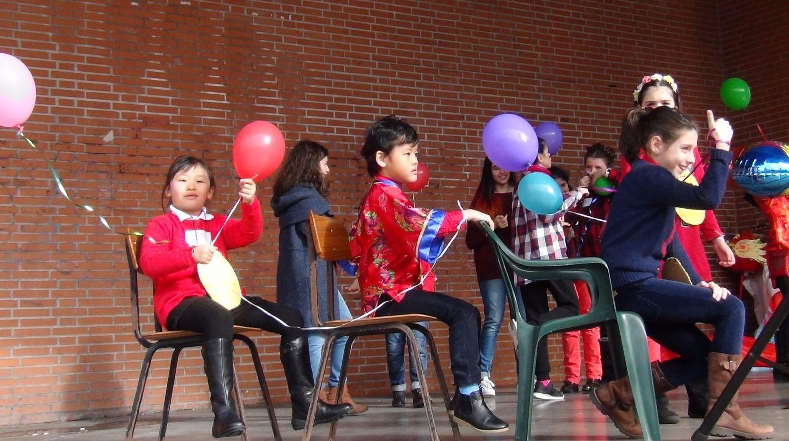 Celebración del año nuevo chino 2017  #AñoGallo