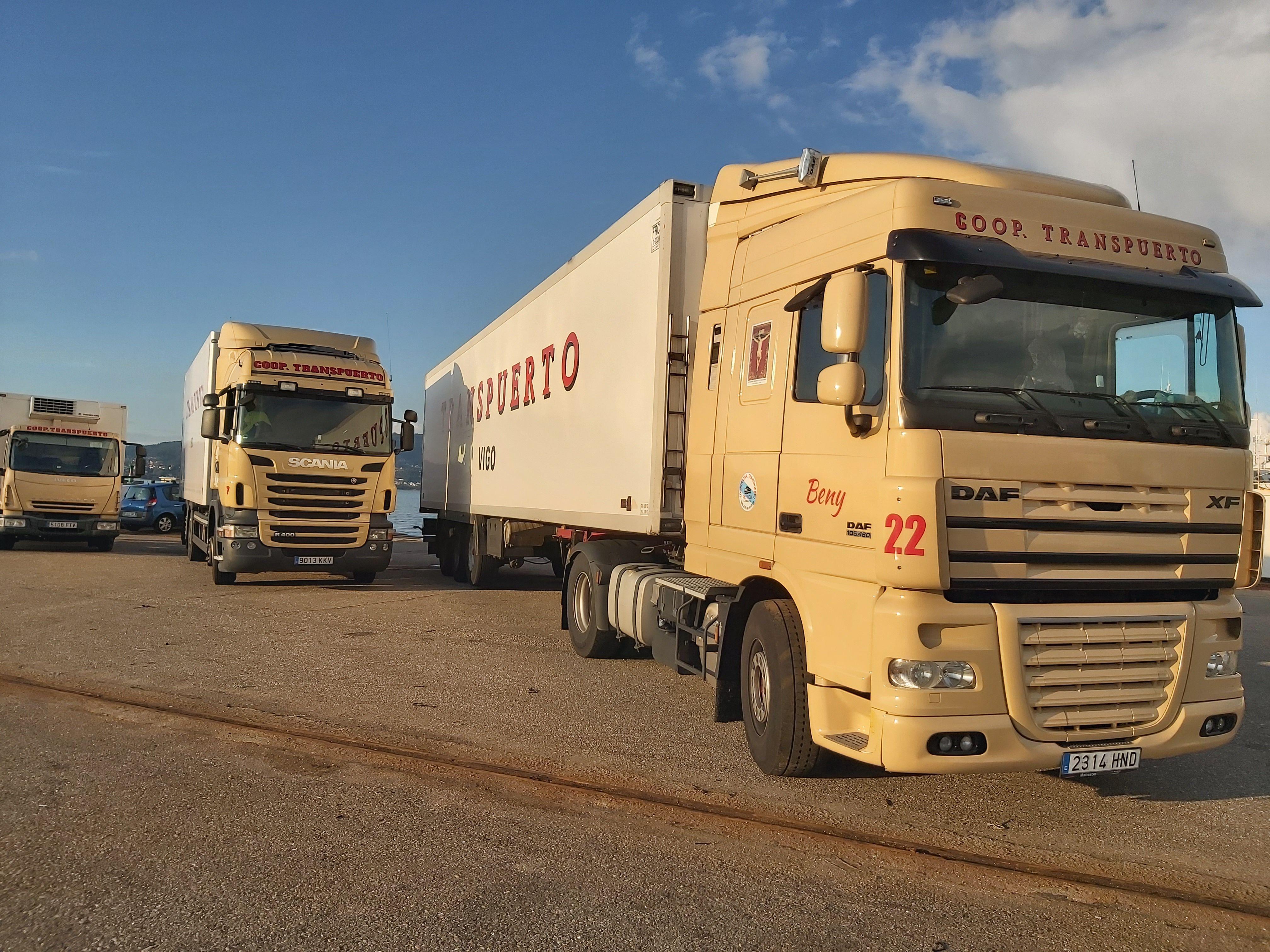 Transporte de mercancías por carretera en Vigo