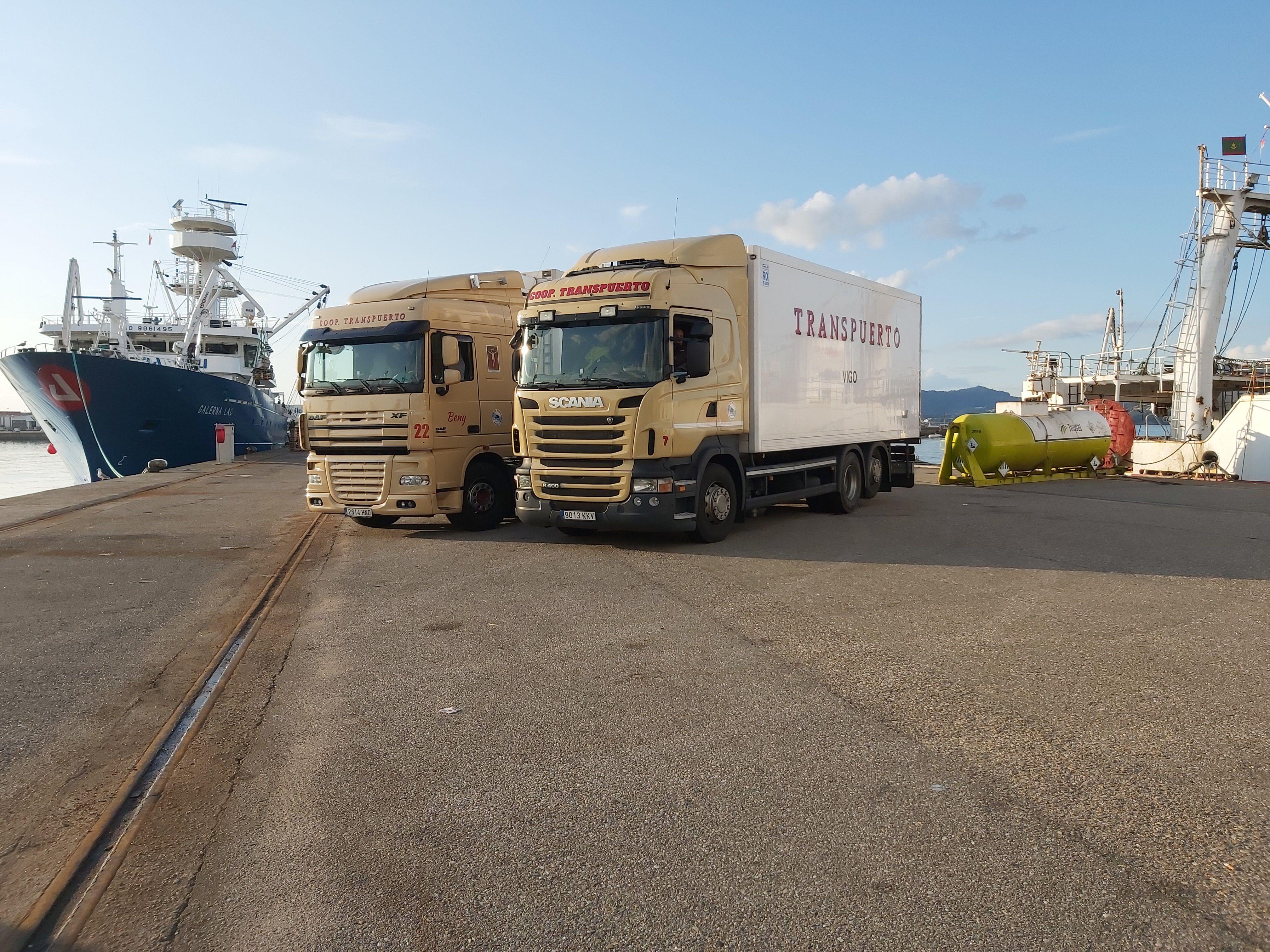 Compañía de transporte en Vigo