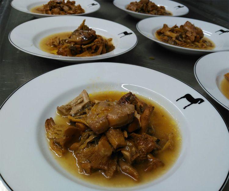Platos de carne para celebraciones