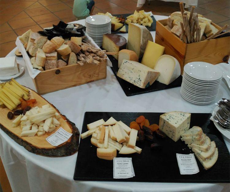 Un gran surtido de quesos en Toledo