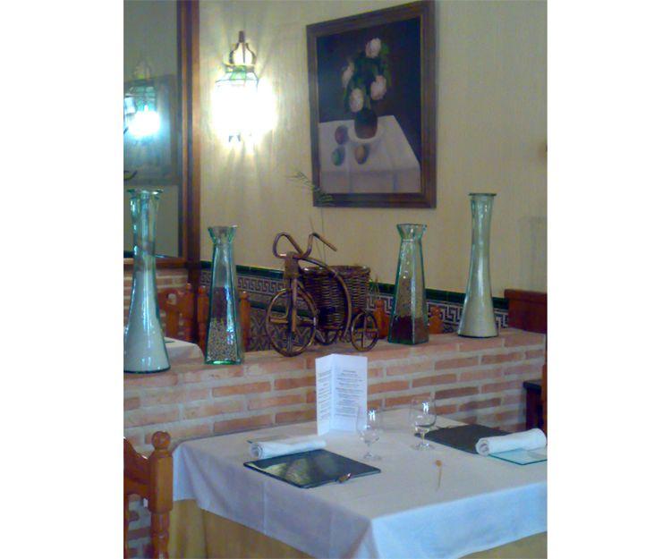 Restaurante especializado en cocina castellana