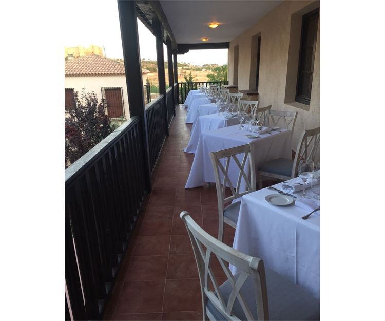 Terraza exterior para nuestros clientes