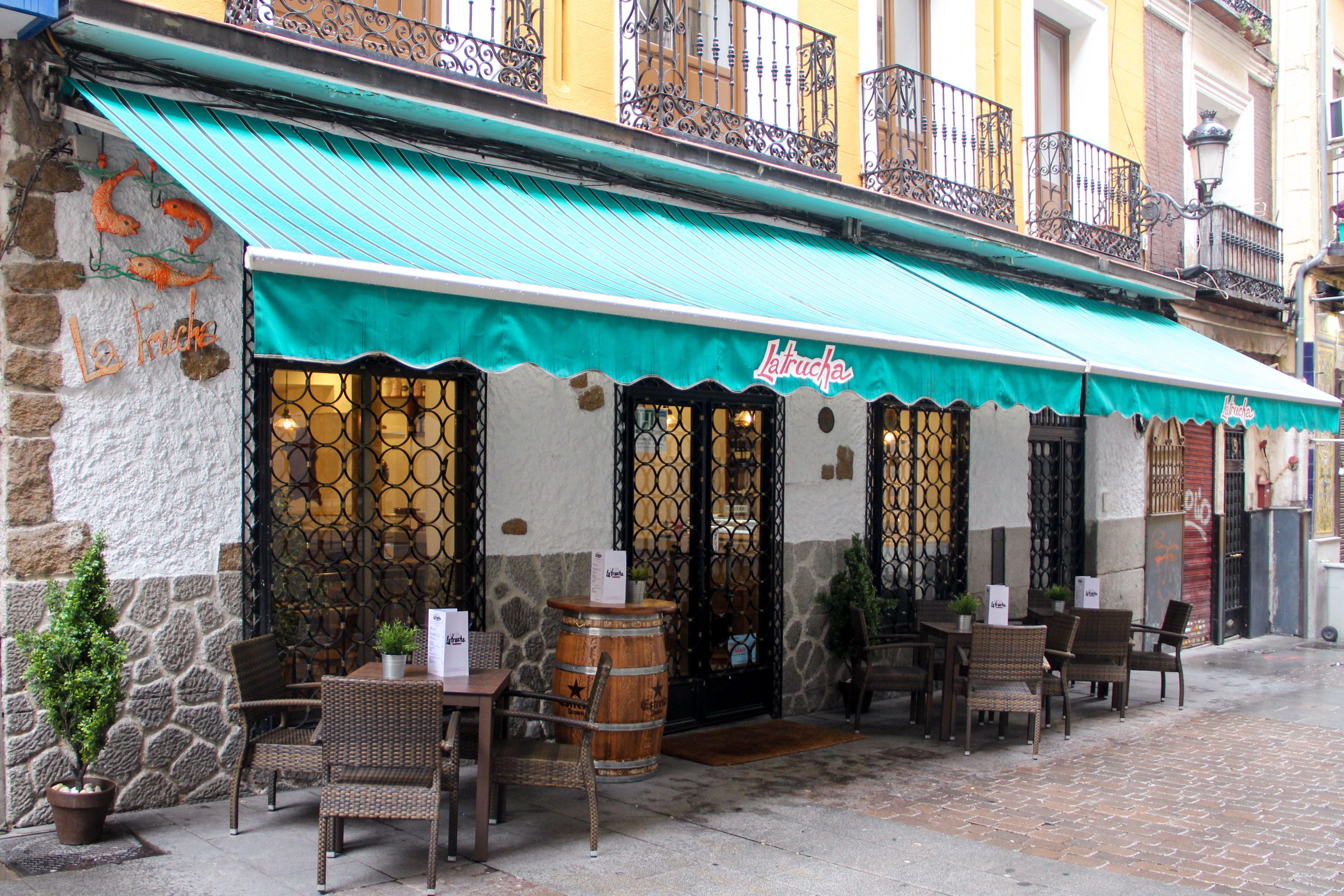 Cocina madrileña con un toque andaluz en el centro de Madrid