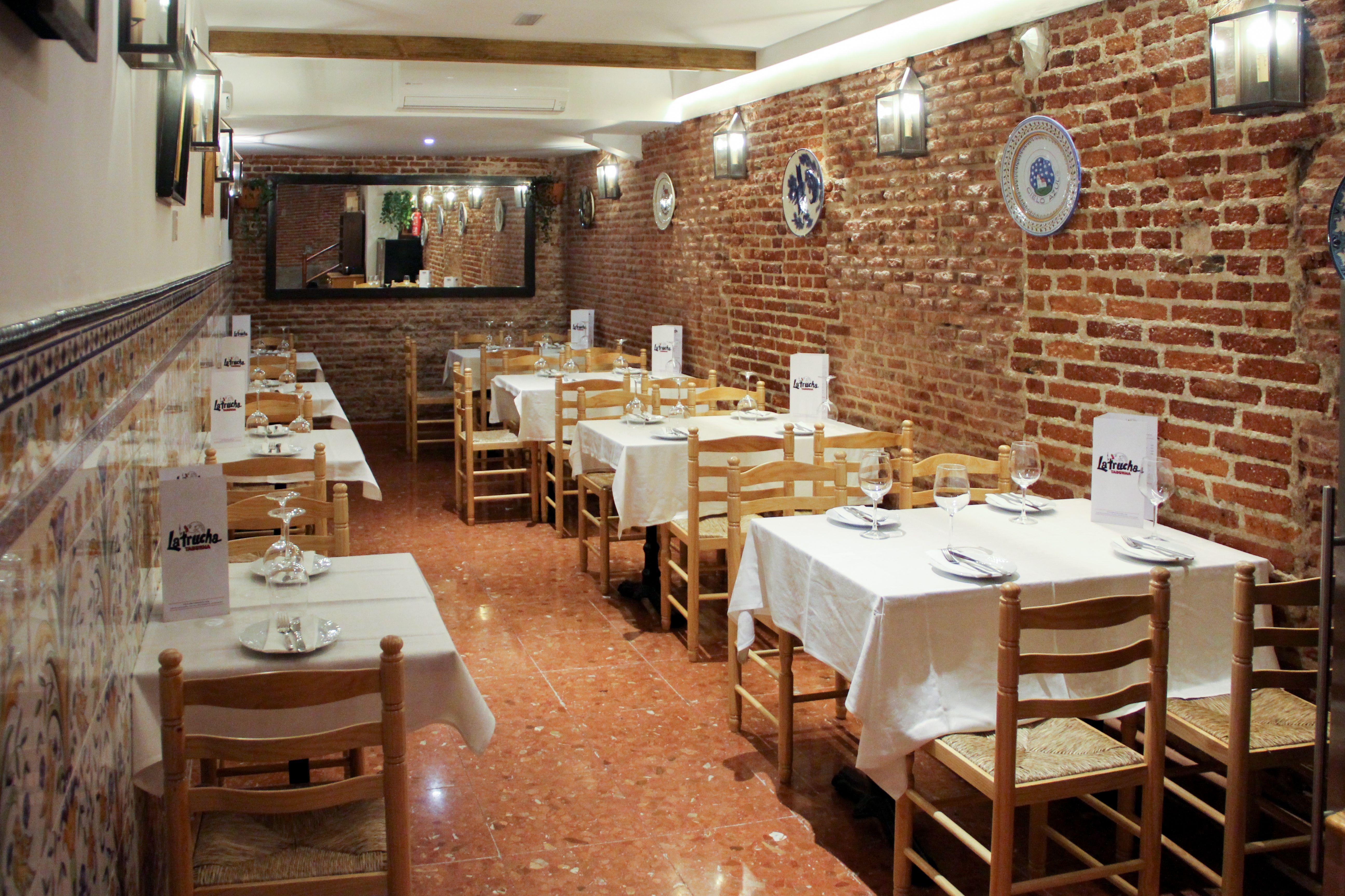 Taberna La Trucha en Madrid