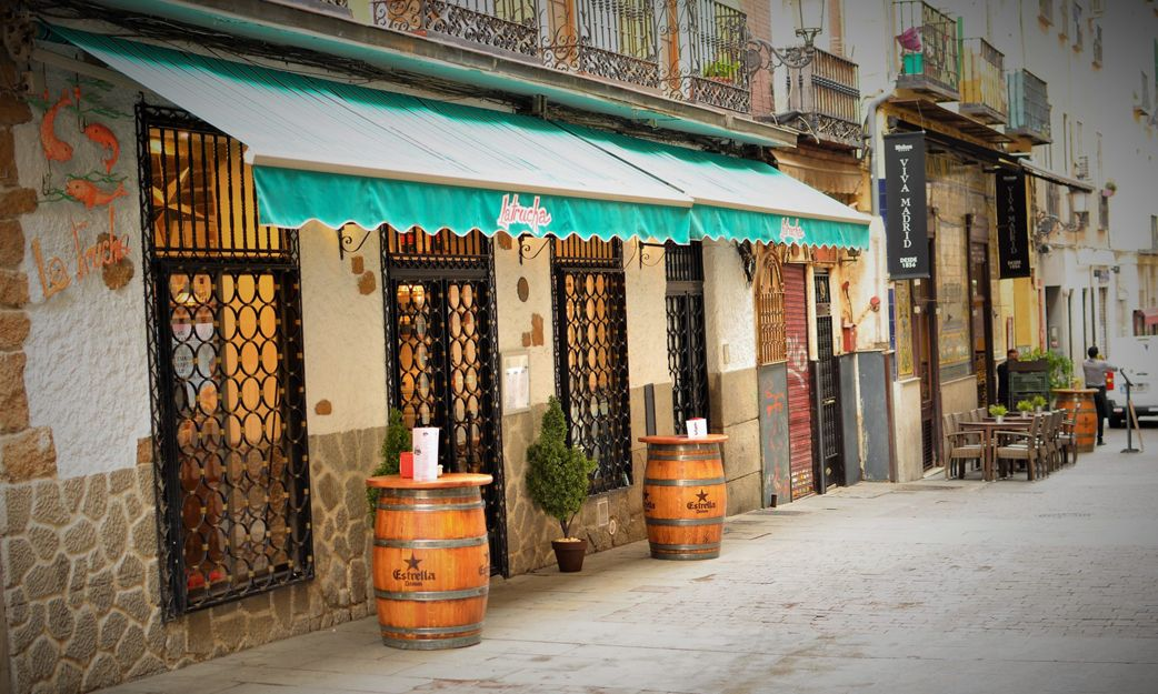 Taberna La Trucha en el barrio de las letras, Madrid