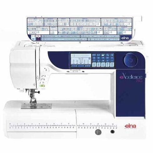 Máquinas de coser domésticas Elna