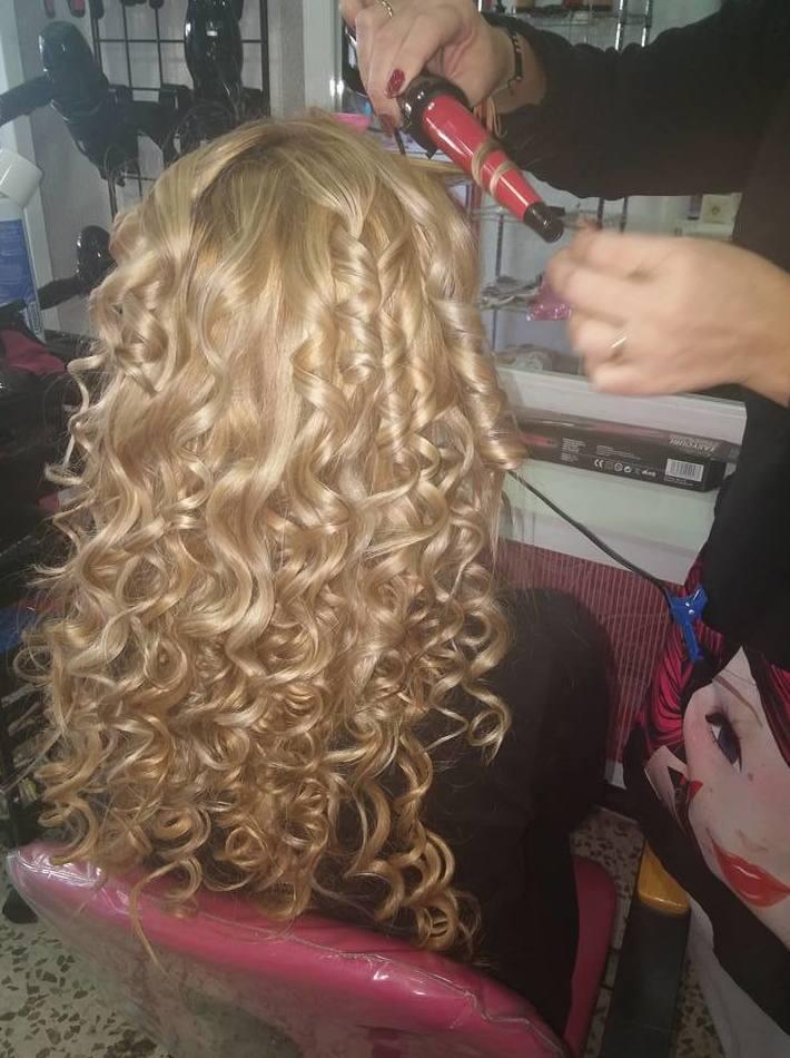 Moldeado de cabello