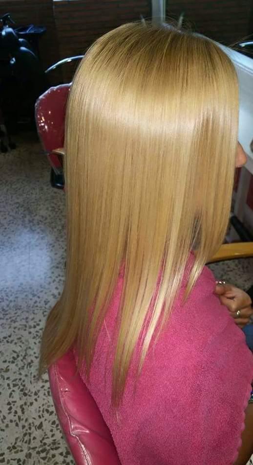 Alisado de cabello