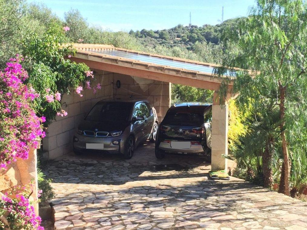 Paneles solares para coches