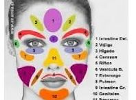 Reflexología podal, manual y facial