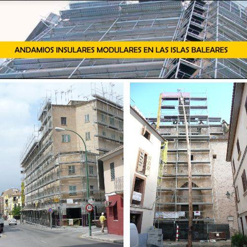 Andamios modulares en las Islas Baleares