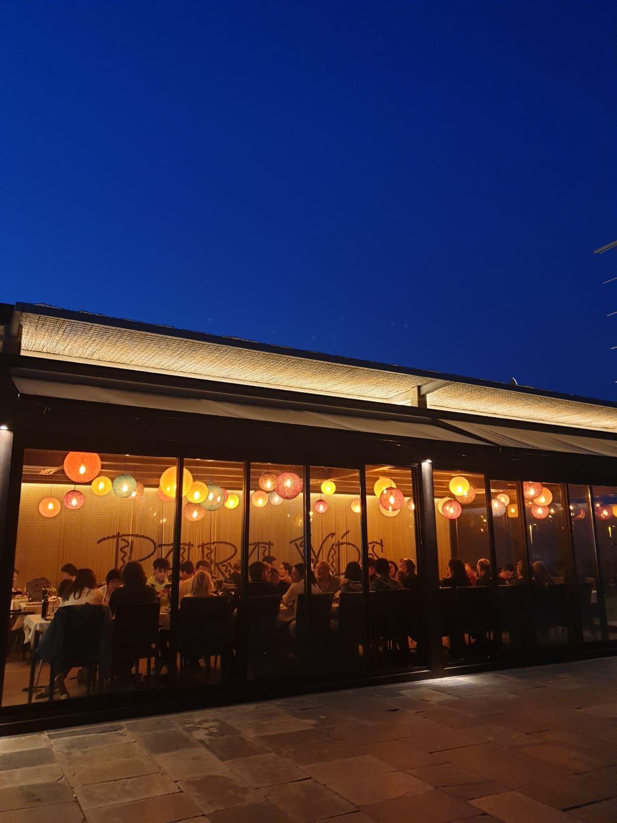 Restaurante argentino situado en Playafels