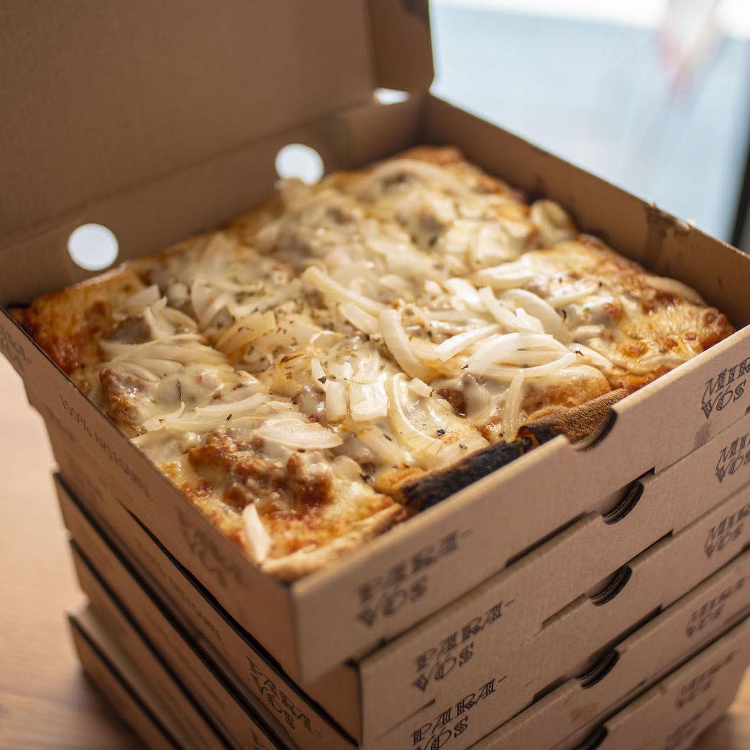 Pizzas caseras 100%  también ·sin gluten· gluten free· Para llevar Delivery & take away