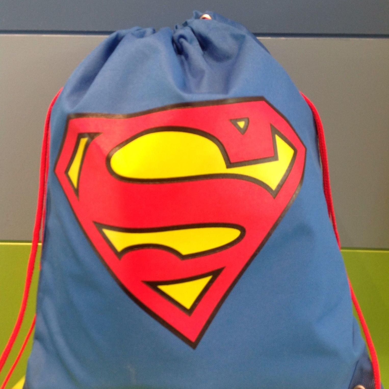 Mochila saco superman