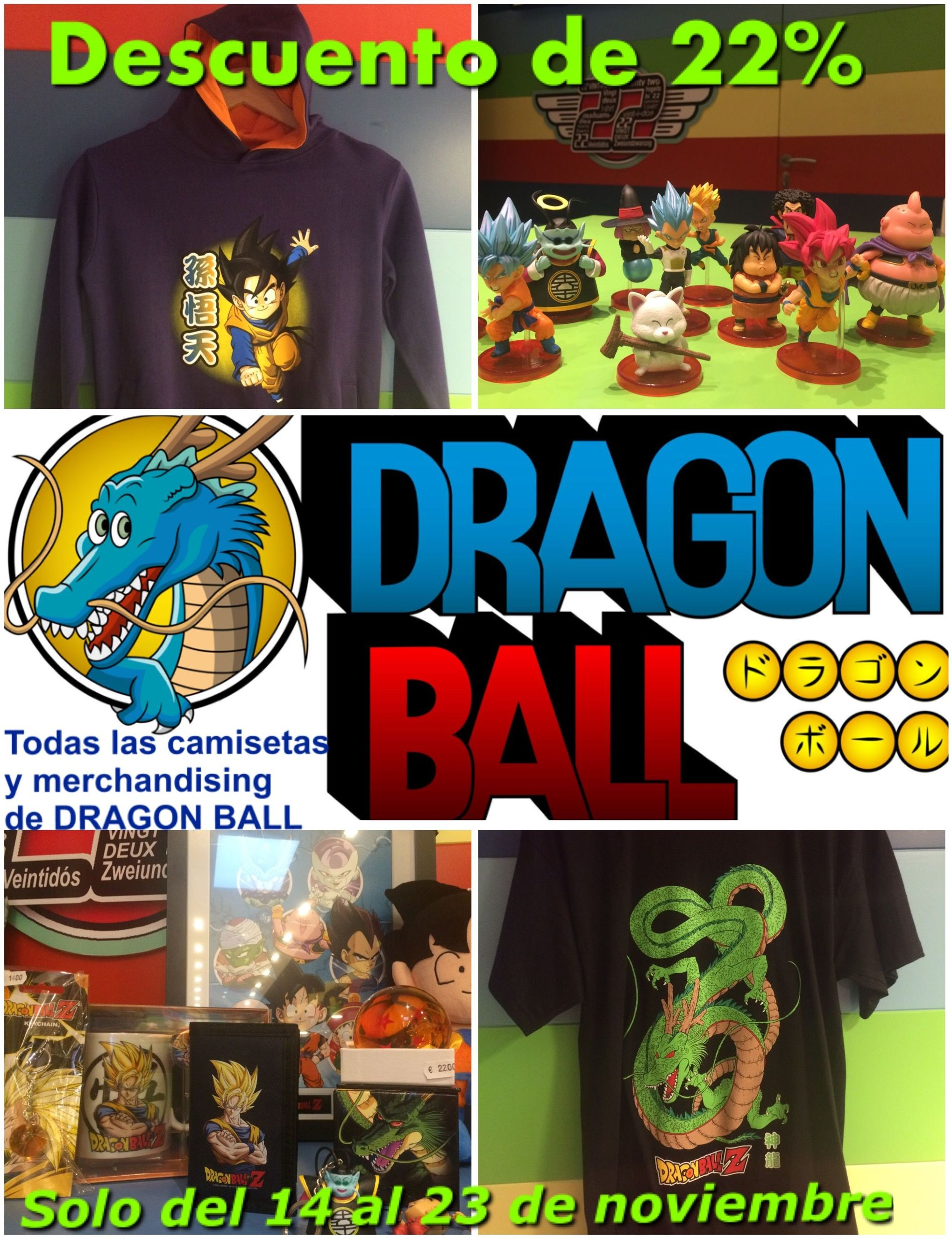 DÍAS DRAGON BALL