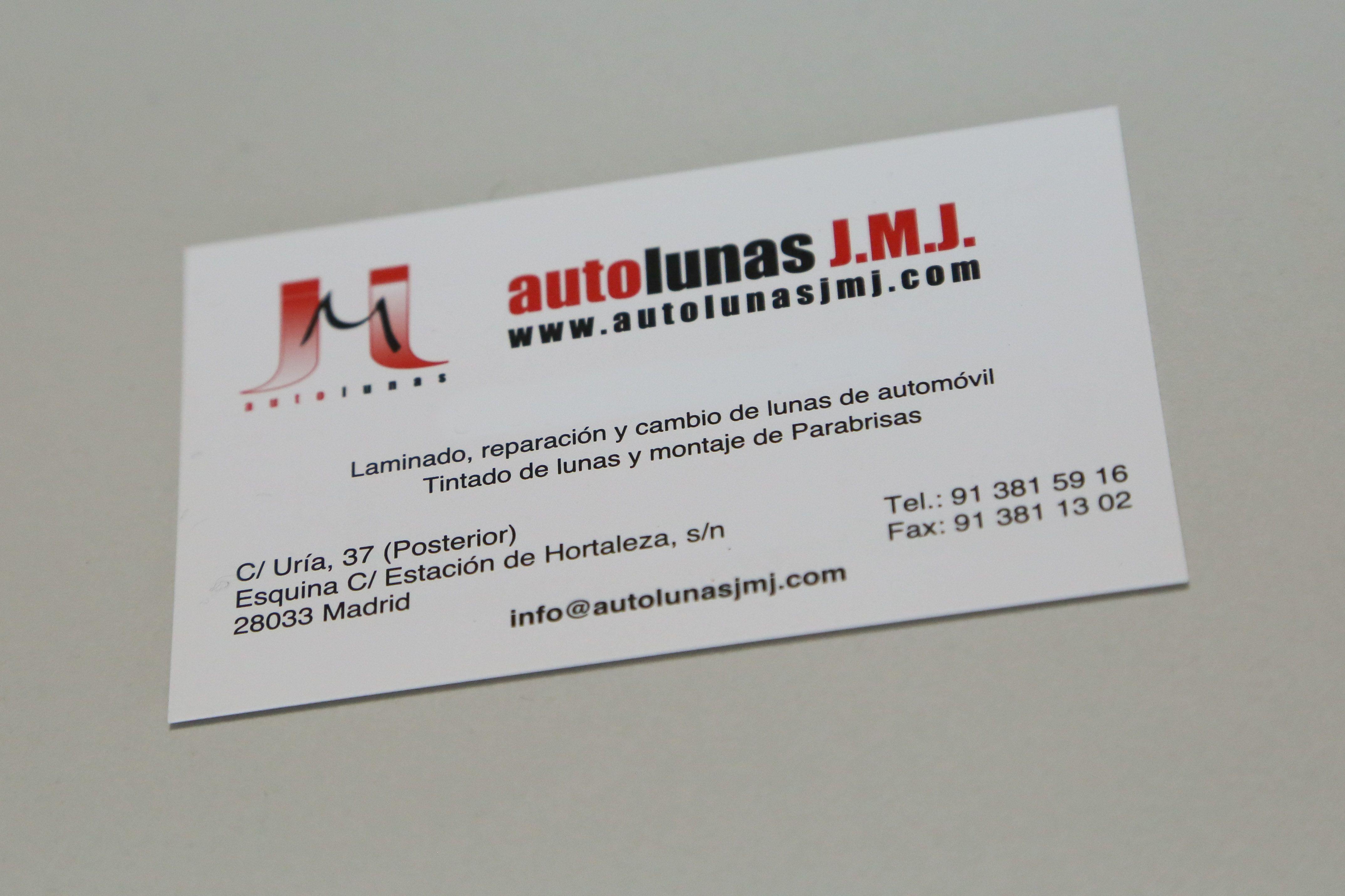 Foto 3 de Lunas de automóviles en Madrid | Autolunas J.M.J.