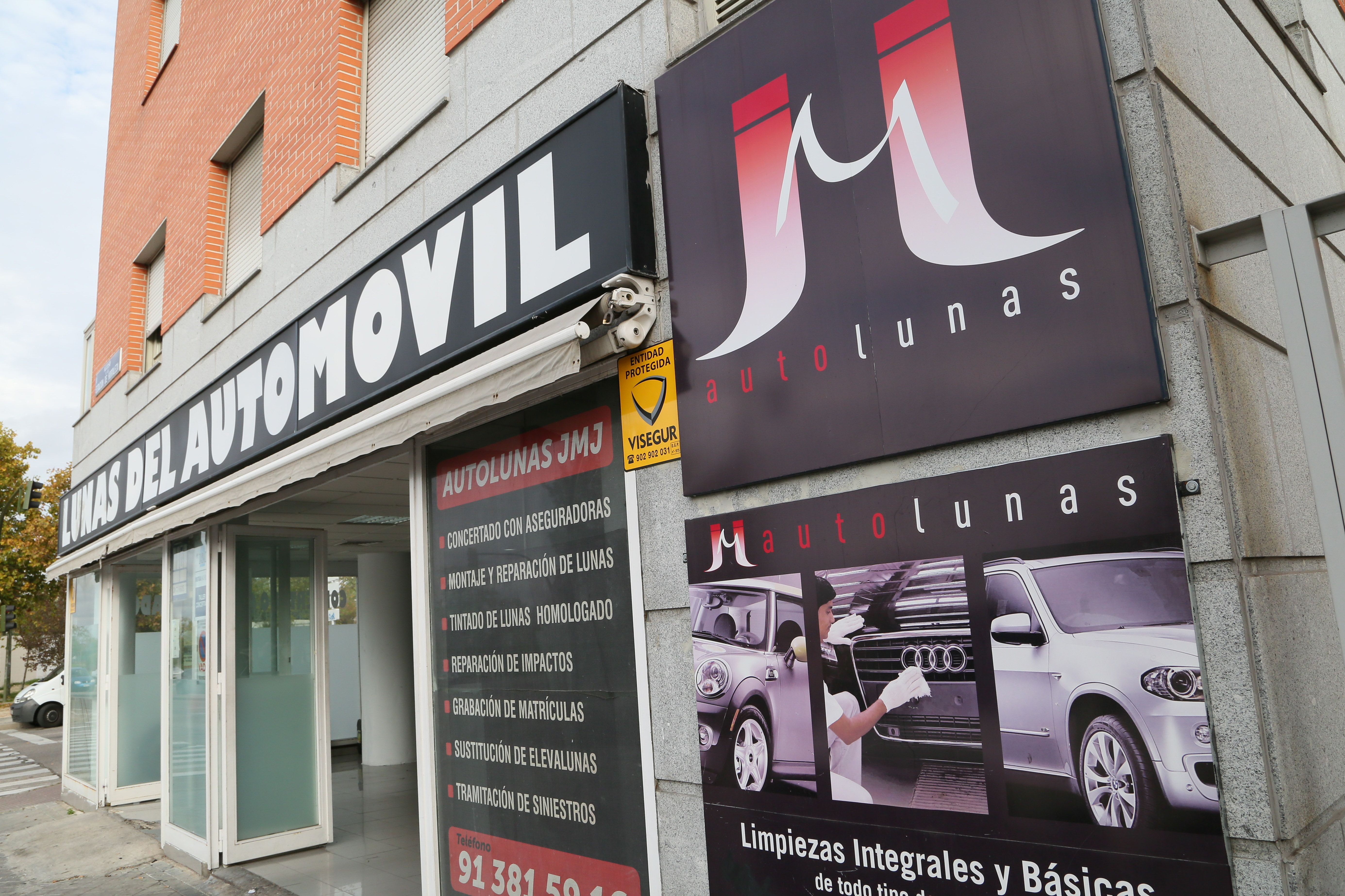Foto 1 de Lunas de automóviles en Madrid | Autolunas J.M.J.