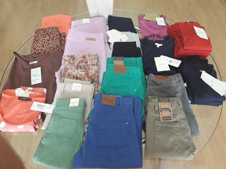 Gran variedad de prendas