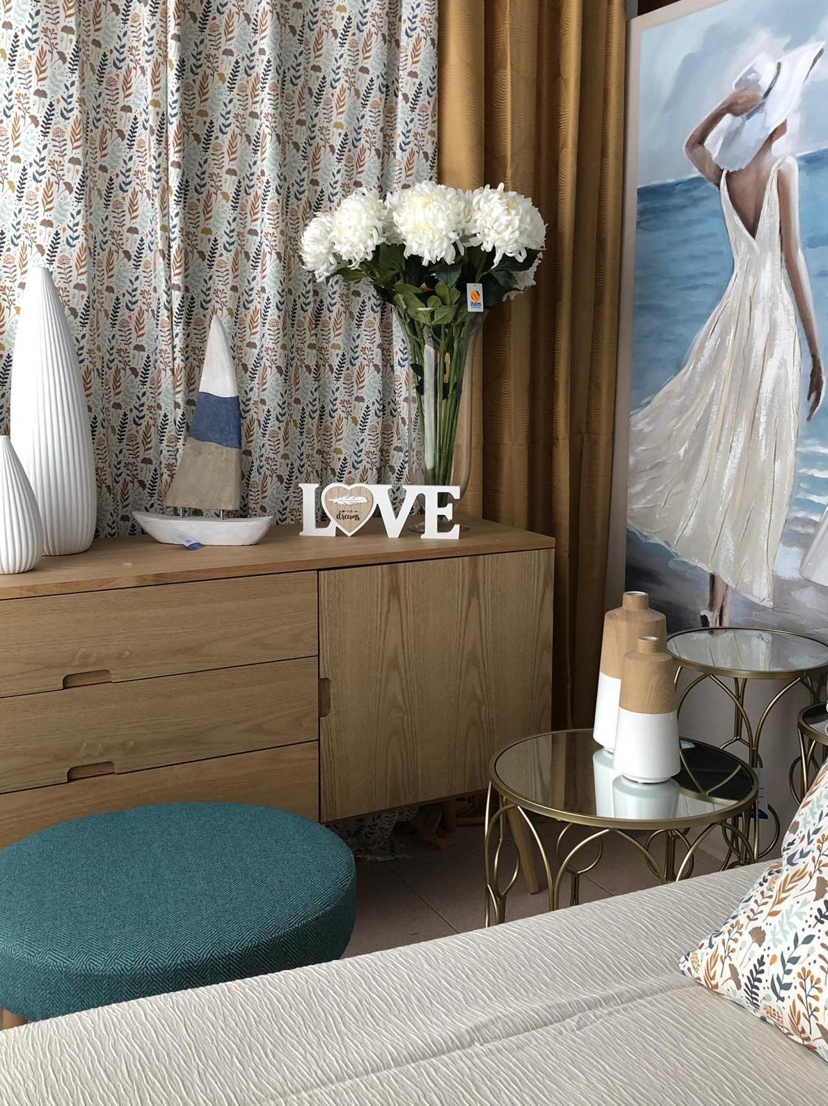 Decoración textil dormitorio