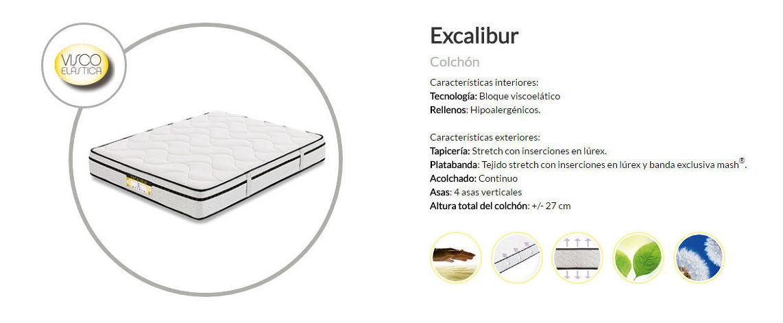 Colchón excalibur