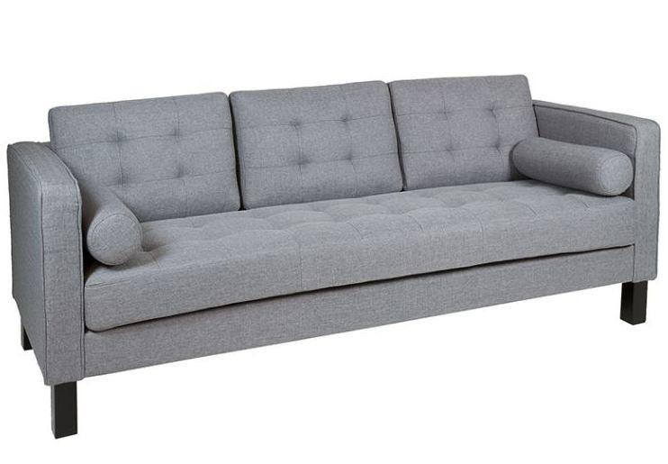 Sofá gris 3 plazas 450€