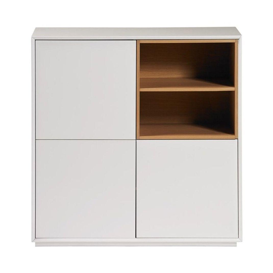 Mueble 4p white